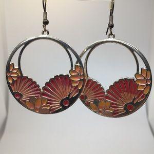 Jewelry - Flower Enamel Earrings   🌺 3 for $20! 🌺